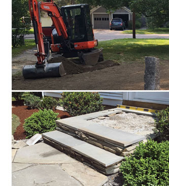 Watershed provides complete landscaping, excavation and building site management.